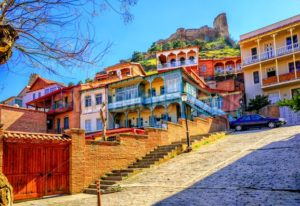 Old Town of Tbilisi, Georgia - GlobePhotos - royalty free stock images