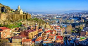 Tbilisi Old Town, Georgria - GlobePhotos - royalty free stock images