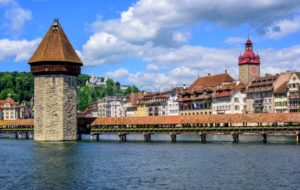 Medieval Old Town of Lucerne, Switzerland - GlobePhotos - royalty free stock images