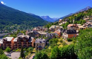 Briancon town in Alpes mountains, Provence, France - GlobePhotos - royalty free stock images