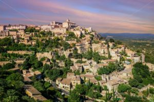 Old Town of Gordes, Provence, France - GlobePhotos - royalty free stock images