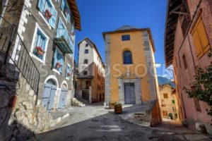 The Old Town of Briancon, Alps mountains, France - GlobePhotos - royalty free stock images