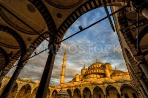 Blue Mosque, Sultanahmet, Istanbul, Turkey - GlobePhotos - royalty free stock images