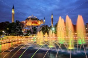 Hagia Sophia basilica, Istanbul, Turkey - GlobePhotos - royalty free stock images