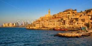 Jaffa Old Town and Tel Aviv skyline, Israel - GlobePhotos - royalty free stock images