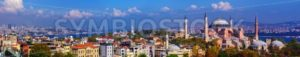 Panorama of Istanbul city, Turkey - GlobePhotos - royalty free stock images