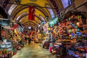 The Grand Bazaar in Istanbul, Turkey - GlobePhotos - royalty free stock images