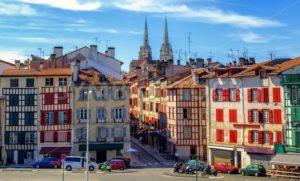 Old Town center of Bayonne, France - GlobePhotos - royalty free stock images