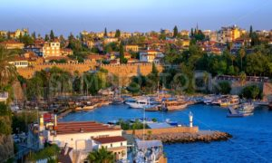 Antalya, Turkey, the Kaleici Old Town and harbour - GlobePhotos - royalty free stock images