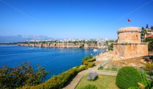 Panoramic view of Antalya city, Turkey - GlobePhotos - royalty free stock images