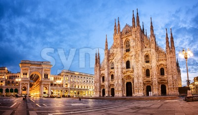 Milan Cathedral, Italy Stock Photo