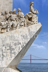 Discoveries Monument - Padrao dos Descobrimentos, Lisbon, Portugal Stock Photo
