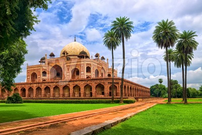 Humayun's tomb in New Delhi, India Stock Photo