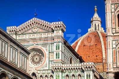 The Dome of the Florence Cathedral, Italy Stock Photo