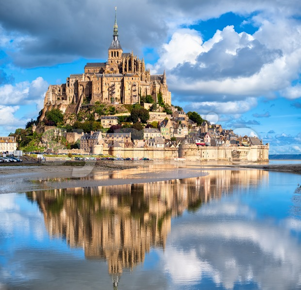 Mont Saint-Michel, France Stock Photo