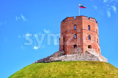 Gediminas Tower, Vilnius, Lithuania Stock Photo