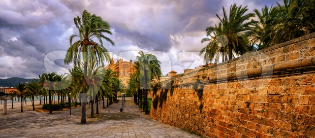 Palma de Mallorca, Majorca, Spain Stock Photo