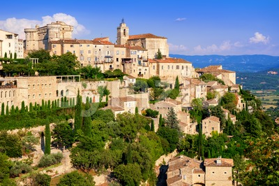 Gordes old town, France Stock Photo