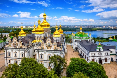 Kyiv Monastery of the Caves, Kiev, Ukraine Stock Photo