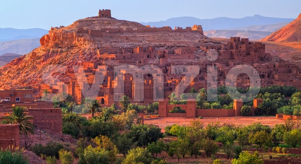 Kasbah Ait Benhaddou, Morocco Stock Photo
