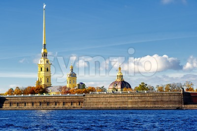 Peter and Paul fortress, St Petersburg, Russia Stock Photo