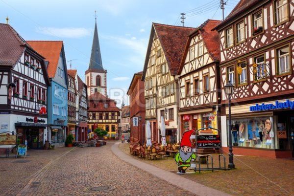 Lohr am Main Old town, Bavaria, Germany - GlobePhotos