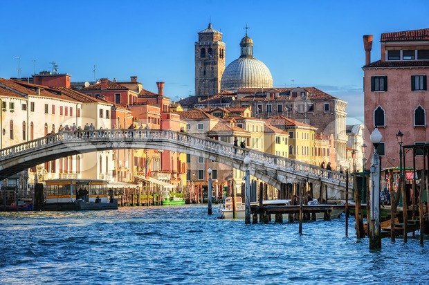 The Grand Canal in Venice, Italy Stock Photo