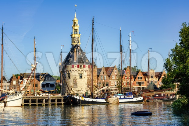 Hoorn town, North Holland, Netherlands Stock Photo