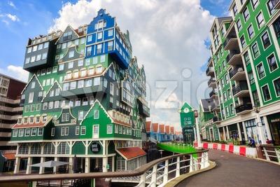Zaandam city center, North Holland, Netherlands Stock Photo