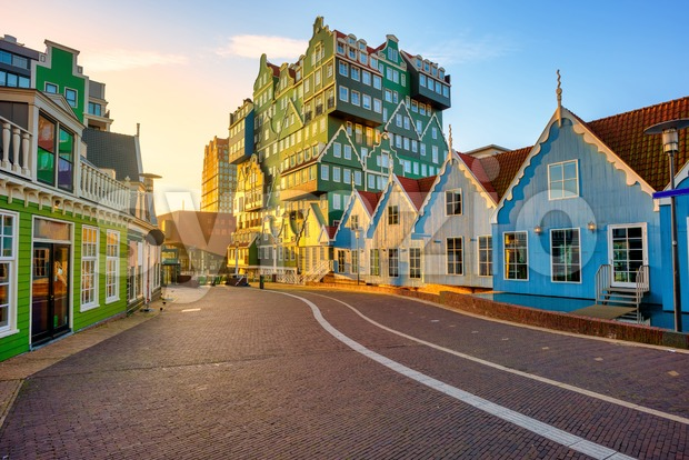 Zaandam city, North Holland, Netherlands Stock Photo