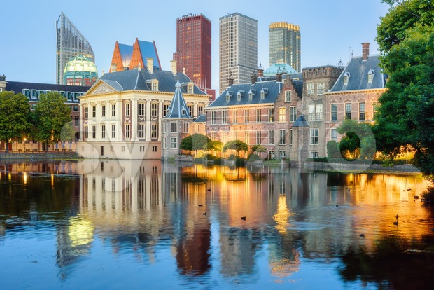 The Hague city center, South Holland, Netherlands Stock Photo