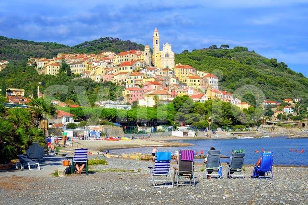 Cervo, Italy Stock Photo