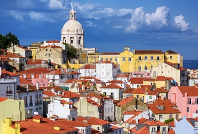 Alfama, Lisbon, Portugal Stock Photo
