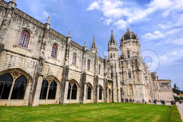 Monastery dos Jeronimos, Lisbon, Portugal Stock Photo