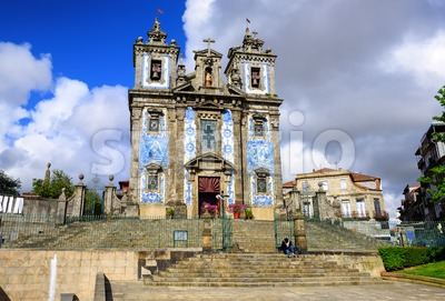 Saint Ildefonso church, Porto, Portugal Stock Photo