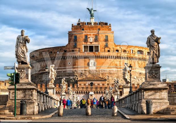 Castel San Angelo, Rome, Italy Stock Photo