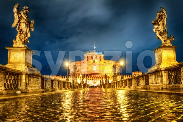 Castel San Angelo, Rome, Italy Stock Photo