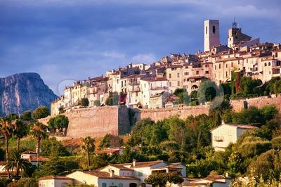 Saint Paul de Vence, Provence, France Stock Photo
