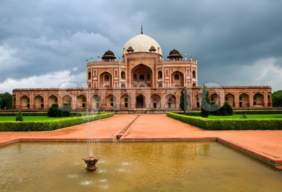 Humayun's tomb in New Delhi, India Stock Photo