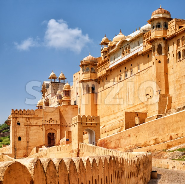 Amber Fort, Jaipur, India Stock Photo