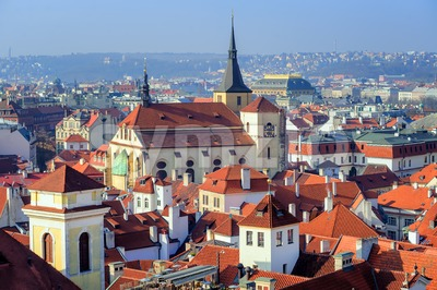 Old town of Prague, Czech Republic Stock Photo