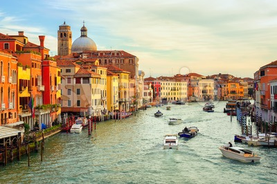 The Grand Canal, Venice, Italy Stock Photo
