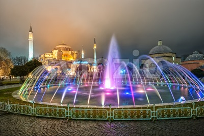 Hagia Sofia, Sultanahmet, Istanbul, Turkey Stock Photo