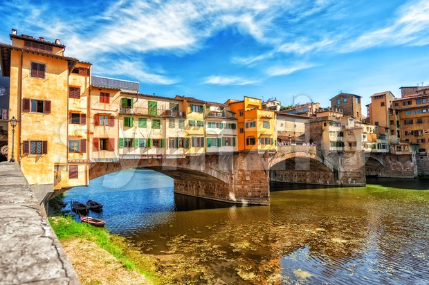 The Ponte Vecchio, Florence, Italy Stock Photo