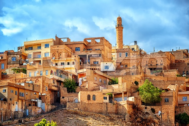 Old town Mardin, famous for its historical architecture, is UNESCO World Heritage Site, southern Turkey