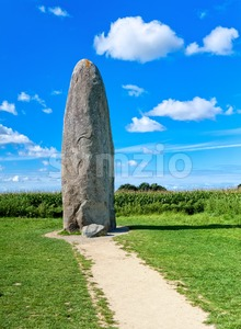 Dol-de-Bretagne, Brittany, France Stock Photo