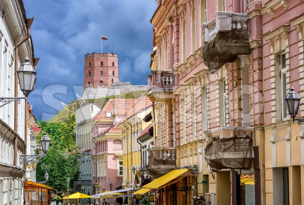 Vilnius Old Town, Lithuania, Eastern Europe Stock Photo