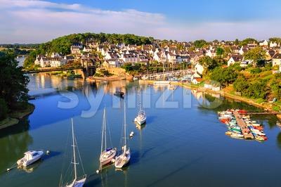 Morbihan, Brittany, France Stock Photo