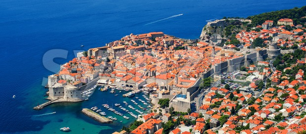 The historical old town of Dubrovnik, Croatia Stock Photo