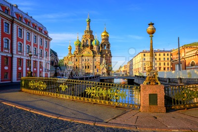 St Petersburg city center, Russia Stock Photo